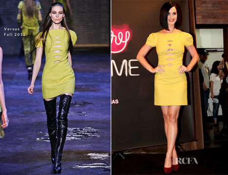 Katy Perry In Versus - Red Carpet Fashion Awards | Fashionability | Scoop.it