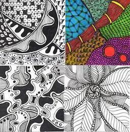 Calm Down and Get Your Zentangle On   Teaching Art To Children   Scoop.it