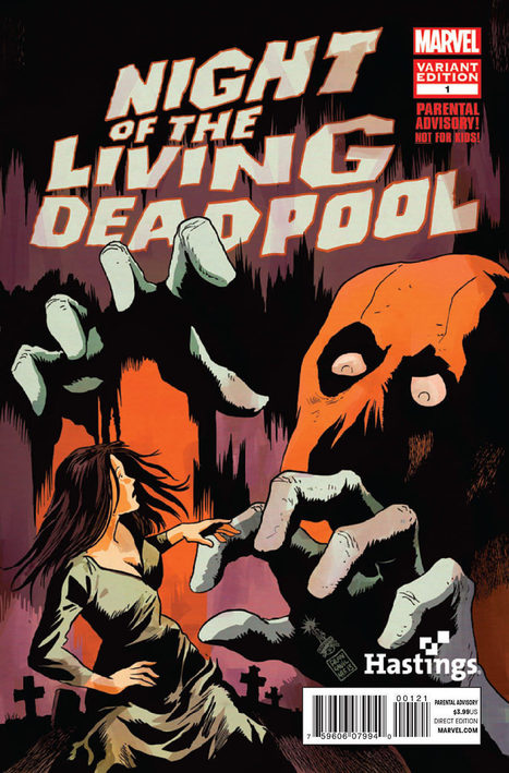 Les sorties de comics zombies de la semaine : Night of the living Deadpool #1 | My Zombie Culture | Le monde fou de Deadpool | Scoop.it