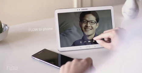 Avec Flow, Samsung facilite le suivi d'une activité entre terminaux | Veille technologique et juridique BTS SIO | Scoop.it