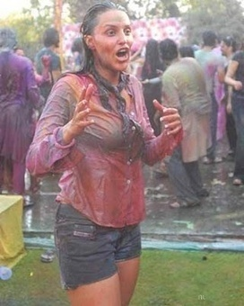Holi Hot Wet Girls Pictures 2014 | Bollywood News, Songs Lyrics, Reviews, Box Office, Wallpapers, Videos n More | Scoop.it