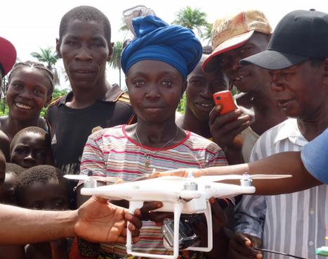 Using UAVs to Map Diamond Mines and Reduce Conflict in Africa | Drones | Scoop.it
