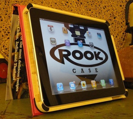Rookcase turns old books into functional tablet covers   Gadgets I lust for   Scoop.it