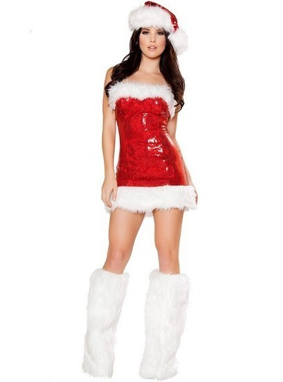 Miss Candy Cane Sexy Christmas Costume for Women   Favorite Costumes   Scoop.it