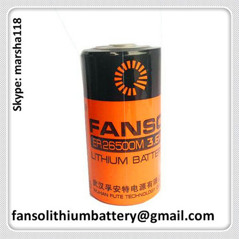FANSO 3.6V Lithium Battery ER26500M C size Spiral Type with High Current | FANSO Lithium Battery 3.6v & 3.0v Manufactuer of China. Contact Marsha if you need with fansolithiumbattery@gmail.com or skype: marsha118 | Scoop.it