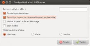 \ Touchpad-indicator: Désactiver automatiquement le touchpad lors de la connexion d'une souris. | Actualités de l'open source | Scoop.it