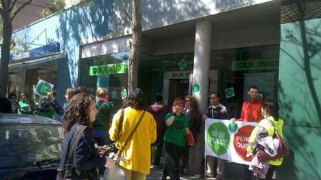 Activistas de la PAH ocupan 12 oficinas de Bankia en Catalunya (entre ellas  Martorell)   Política & Rock'n'Roll   Scoop.it
