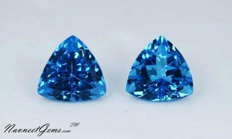 Swiss Blue Topaz, Wholesale Blue Topaz- NavneetGems.com | Swiss Blue Topaz | Scoop.it
