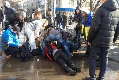 GLADIO STRIKES: Explosion at Peace Rally in Kharkov, Ukraine | Global politics | Scoop.it