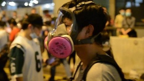 Hong Kong Protest Images And Video Flood Instagram | News | Scoop.it
