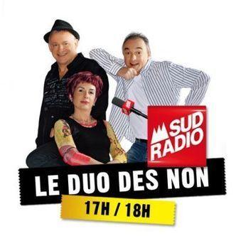 Le Duo des Non rempile sur Sud Radio | Radioscope | Scoop.it