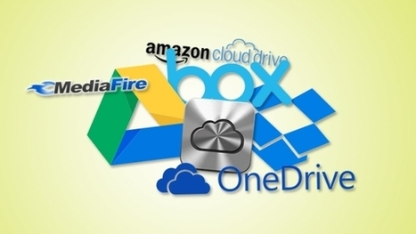 Cloud Storage Showdown: Google Drive, Dropbox, iCloud and More Compared | Storage News and Technology | Scoop.it
