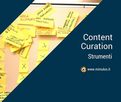 Content Curation: definizione e strumenti | Digital Friday by Mimulus | Scoop.it