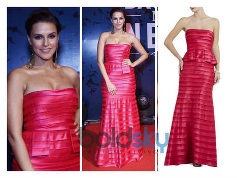 Neha Dhupia's Gaudy BCBG Dress At Barcadi Event | CHICS & FASHION | Scoop.it