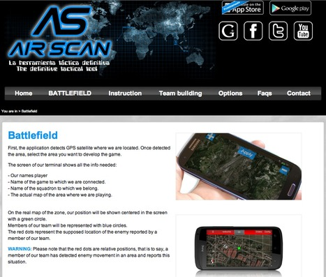 AirScan - A tracking/Team Building and Enemy Spotting App for Android...FubuStudio.com   airsoft   Scoop.it