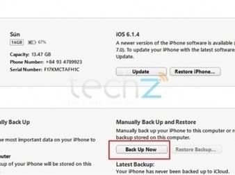 Cập nhật iPhone lên iOS 7 có mất dữ liệu không   Máy làm sữa đậu nành   Scoop.it