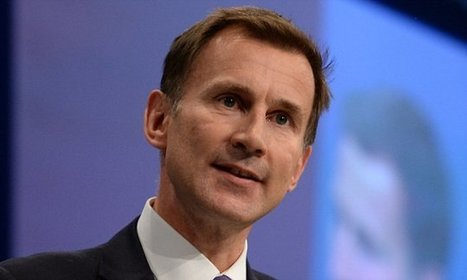 Jeremy Hunt says doctors should be put in charge of hospitals | Media summaries | Scoop.it