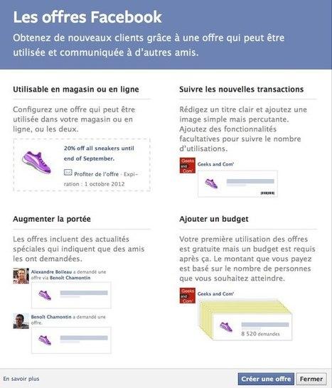 Obtenez de nouveaux clients grâce aux offres Facebook | Les Outils du Community Management | Scoop.it