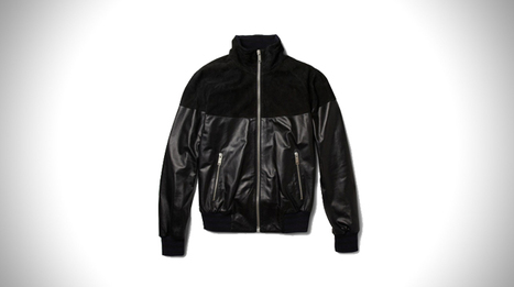 Leather & Suede Bomber by Alexander Mcqueen | Mens Entertainment Guide | Scoop.it