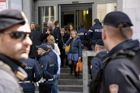 Italian man kills 3 in courtroom | Criminology and Economic Theory | Scoop.it