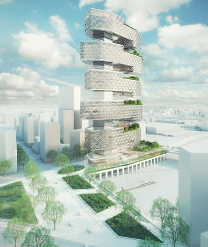 4 équipes internationales pour Paris Rive Gauche   The Architecture of the City   Scoop.it