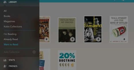 Kobo updates for iOS 7 with new navigation menu, redesigned library and more | Digital Publishing, Tablets and Smartphones App | Scoop.it