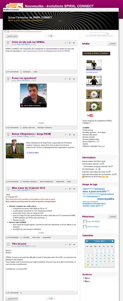 Spiral | Wiki - 02. Les outils collaboratifs | Apprentissage collaboratif | Scoop.it