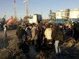 Comunidades mapuches tomaron pozos petroleros en rechazo al acuerdo con Chevron   Protesta mapuche contra Chevron   Scoop.it