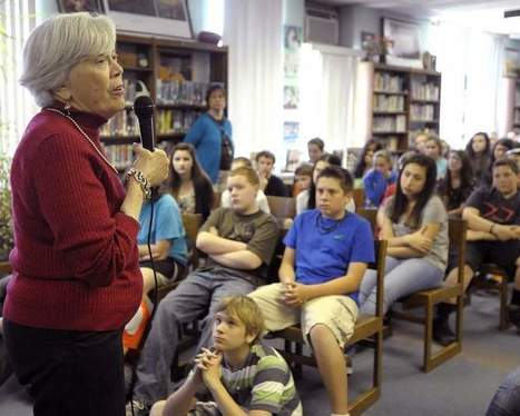 Holocaust survivor recounts her experience for Tiverton Middle School students | TMS Rocks! | Scoop.it
