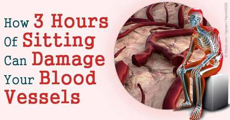 Excessive Sitting Can Damage Your Blood Vessels | Counselling Humanitarian Aid Workers | Scoop.it