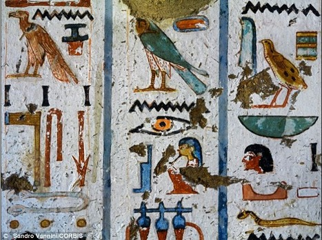 Ancient paint used to decorate Pharoahs' tombs is set to be the basis of telecommunication devices | Centro de Estudios Artísticos Elba | Scoop.it