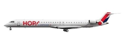 Et Hop ! (là boum) : 3 avions aux nouvelles couleurs de la Cie régionale | Air France face aux low cost | Scoop.it