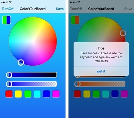 How to easily change the color of your iPhone keyboard | Color Psychology | Scoop.it