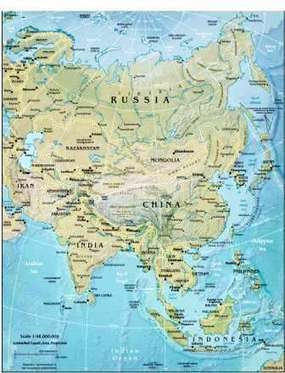 Geography for Kids: Asian countries and the continent of Asia | Foundation Geography: Where people live | Scoop.it