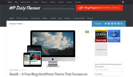 25 Best WordPress Blogs to Follow | Free & Premium WordPress Themes | Scoop.it