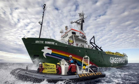 Comment: Greenpeace piracy charges mock international law | International Law & Human Rights | Scoop.it