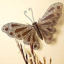 Butterfly Wall Decor Ideas | Bedroom Design Ideas | Scoop.it