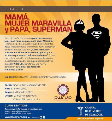 Invitación a charla para Padres de Familia en Guayaquil, Ecuador | Cuidando... | Scoop.it