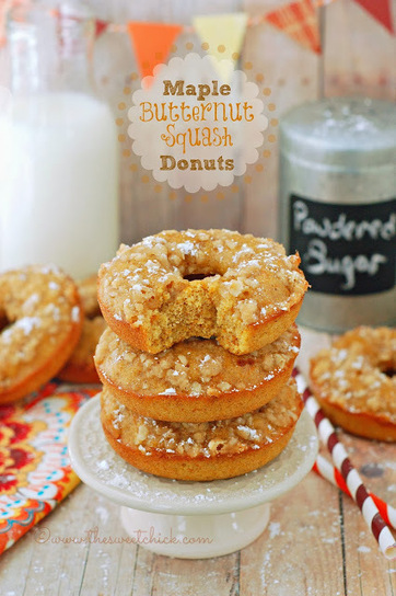 Maple Butternut Squash Donuts | Yums | Scoop.it