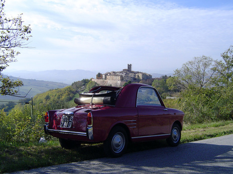 Driving holiday in Italy on a classic car  | Italia Mia | Scoop.it