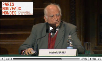 Michel Serres: l'innovation et le numérique - Campus FLE Education | Nomadisme en enseignement | Scoop.it
