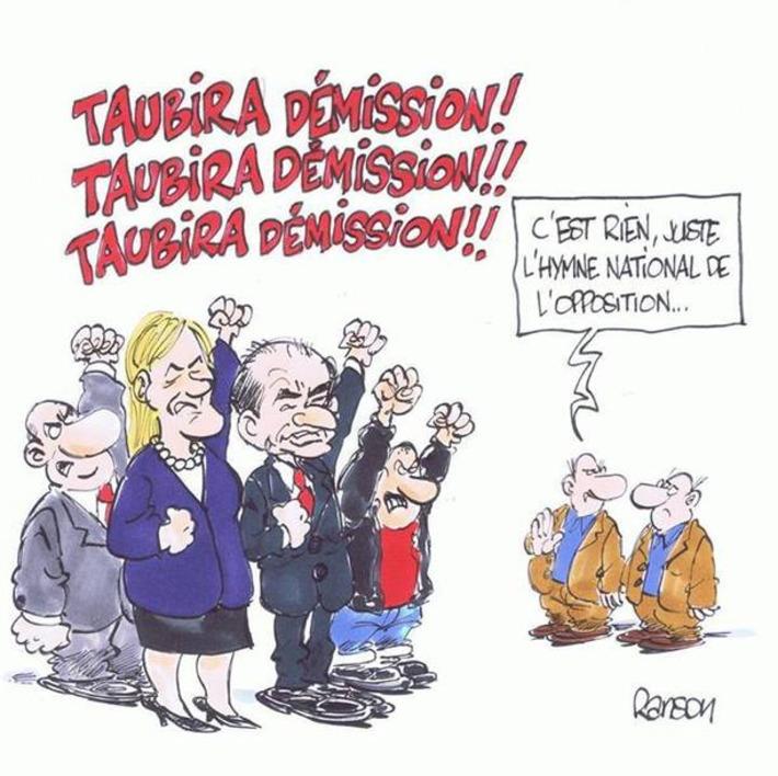 L'opposition réclame la démission de Christine Taubira | Baie d'humour | Scoop.it