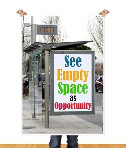 Empty Space Is Key To Offline Marketing | Small Business On The Web | Scoop.it