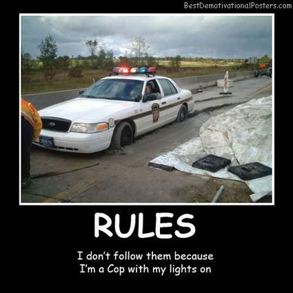 Rules | Demotivational Posters | Scoop.it