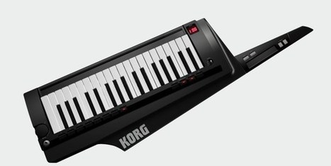 Korg Brings Back The Keytar With RK-100S   Gear Acquisition Syndrome   Scoop.it