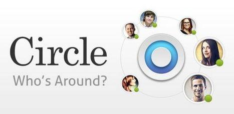 Circle nos informa de los amigos cercanos a nosotros y nos recomienda otros con intereses en común.- | Educación, pedagogía, TIC y mas.- | Scoop.it