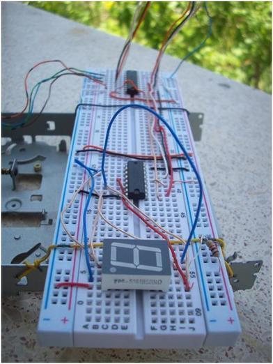 Stepper Motor and 7 Segment Display Control with Parallel Port - CodeProject   Arduino in the Classroom   Scoop.it