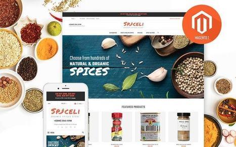Spiceli - Premium Responsive Spices Store Magneto Theme  Magento Food Store Template   platinastudio   Scoop.it