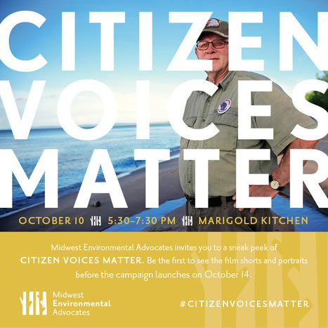 Citizen Voices Matter | Midwest Environmental Advocates | IDLE NO MORE WISCONSIN | Scoop.it