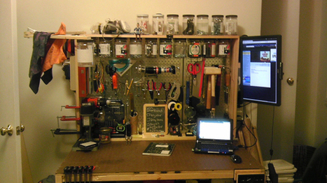 How to Make a Mini Maker Space for Mini Makers | Big and Open Data, FabLab, Internet of things | Scoop.it
